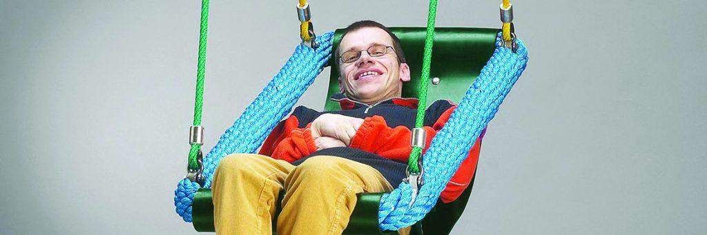 Handicapvenlig gynge