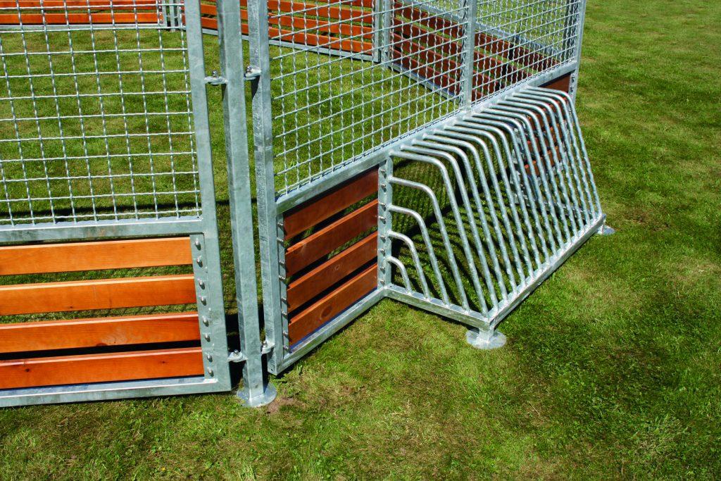 Pannabane mål af galvaniseret stål