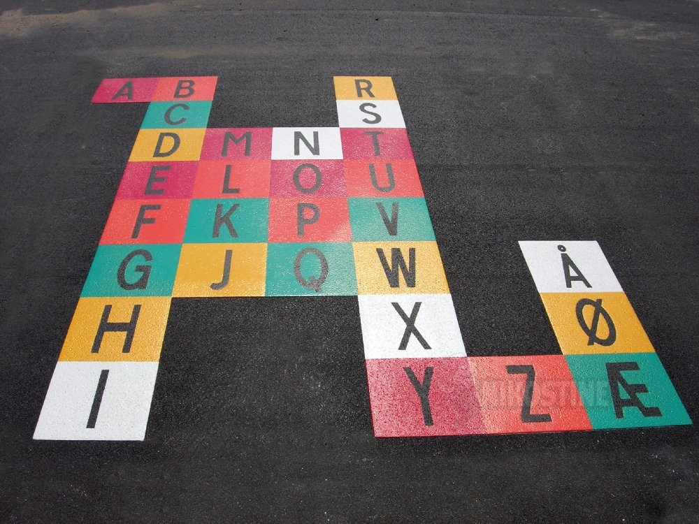 Opstregning alfabet
