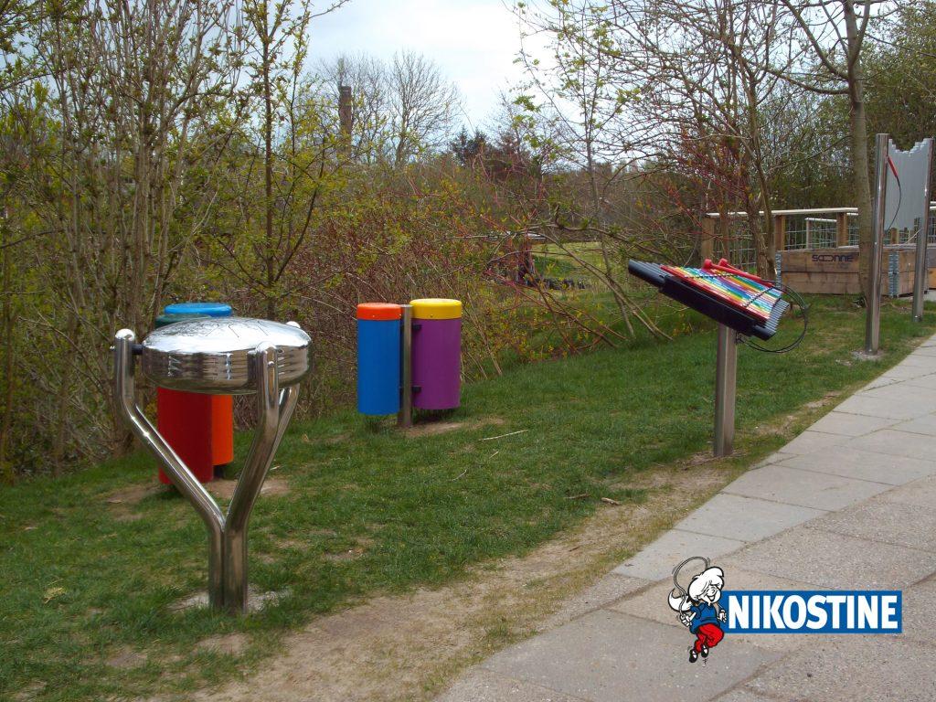Musikinstrumenter til legepladsen