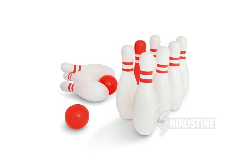 Køb Bowling i træ, 10 kegler online - Spil & diverse