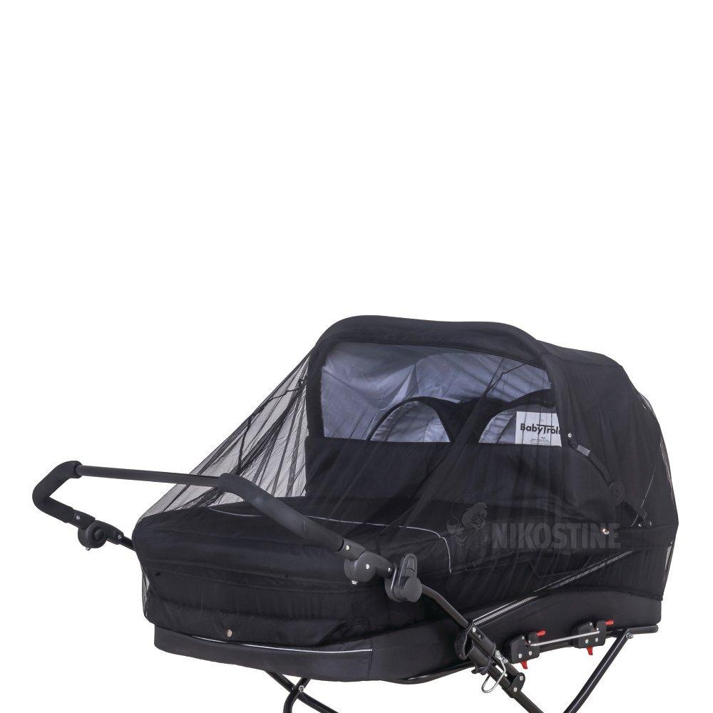 Køb Myggenet Sort Twin online - Krybber & barnevogne