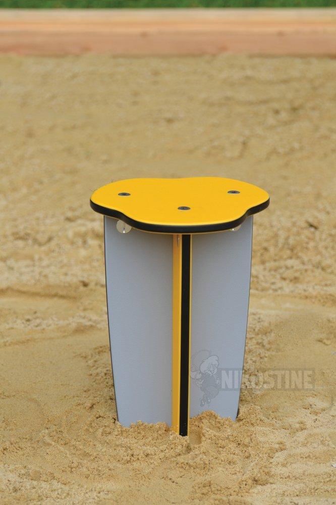 Køb taburet gul online   udemøbler