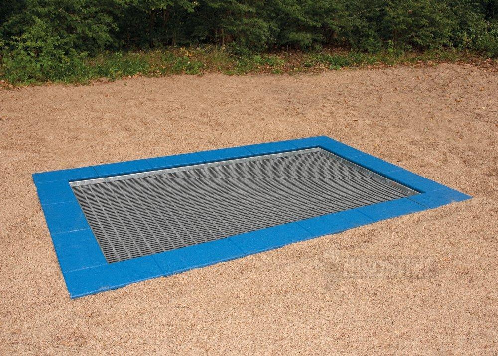 k b trampolin model stor 300 x 200 cm online. Black Bedroom Furniture Sets. Home Design Ideas