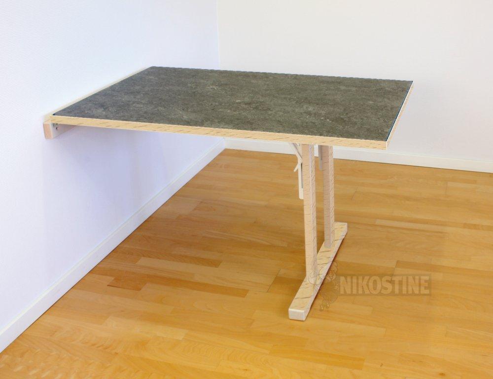 k b klapbord linoleum 140cm online m bler. Black Bedroom Furniture Sets. Home Design Ideas