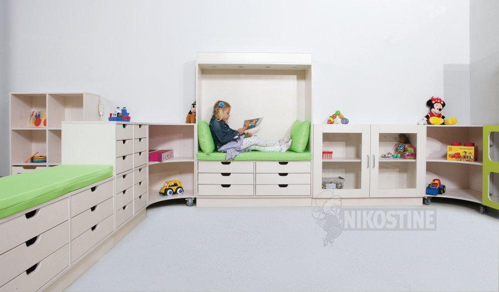 Køb Skuffer 6 stk. små til Kubus skab online - KUBUS skab