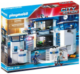 Politistation inkl. 3 figurer, Playmobil
