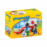 Ambulance,  Playmobil 1-2-3
