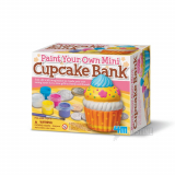 Bank Painting-Paint Your Own Mini Cupcak