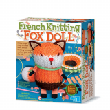 French Knitting Fox Doll - 4M-4682