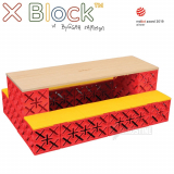 Bænkebord, X-Block - X Table Lav