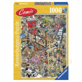 Pappuslespil, Comic Hollywood 1000 pcs
