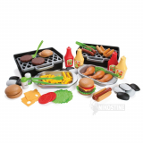 Legeservice, BBQ Grillmad, plast 79 dele