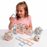 Polydron Magnetic ECO class set-72 dele