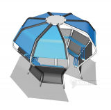 Pod Shelter with Bluetooth