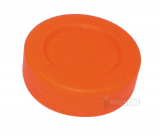 Hockey puck orange