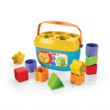 Puttekasse Fisher-Price i plast m. hank