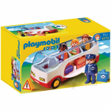 Bus inkl. 4 figurer, Playmobil 1-2-3